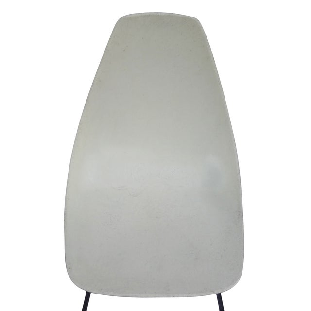 Vintage 1960s Fiberglass Shell Chairs - Set of 4 - Image 5 of 9