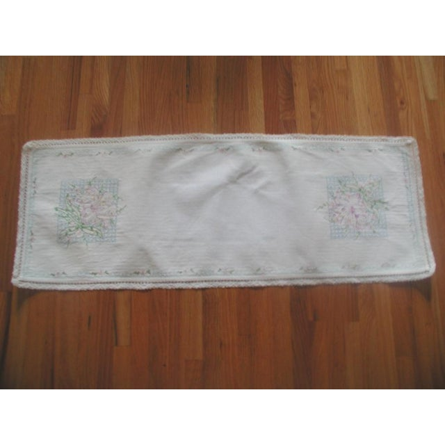 Hand Embroidered Furniture Scarves - Set of 4 - Image 10 of 10