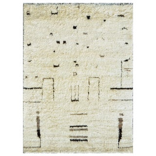 "Moroccan Wool Area Rug - 9'7"" X 13'7"""