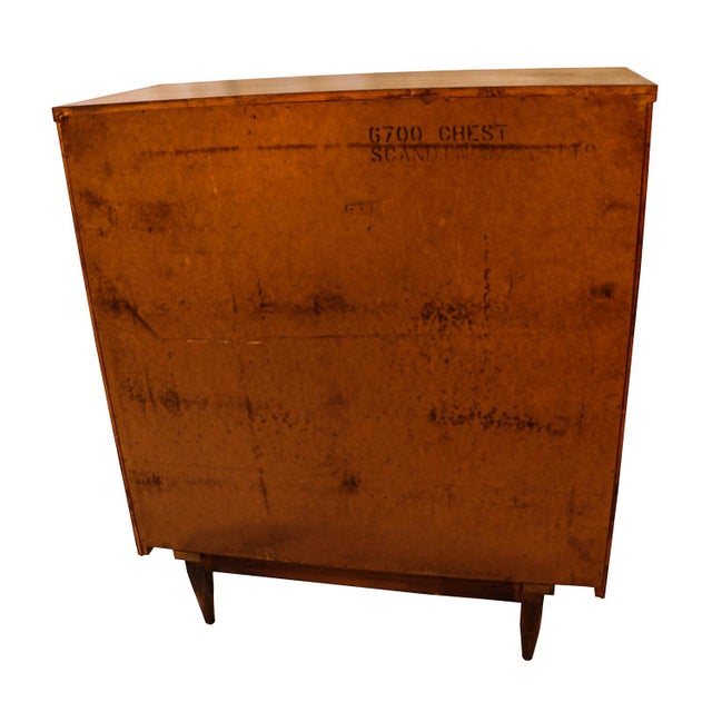 Image of Mid century Kent Coffey Walnut Tall Dresser