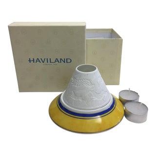 Haviland Limoge Traditional French Tea Light Holders