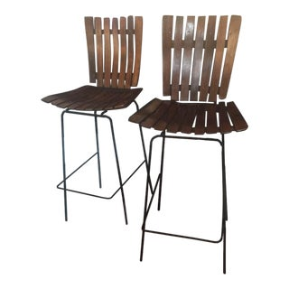 Arthur Umanoff Counter Stools - Pair