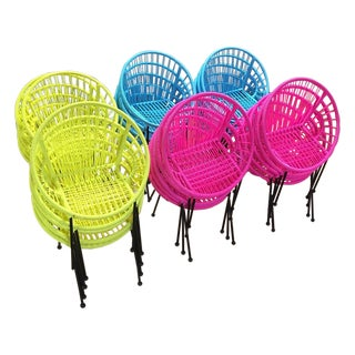 Colorful Kids/Children Chairs - Set of 10