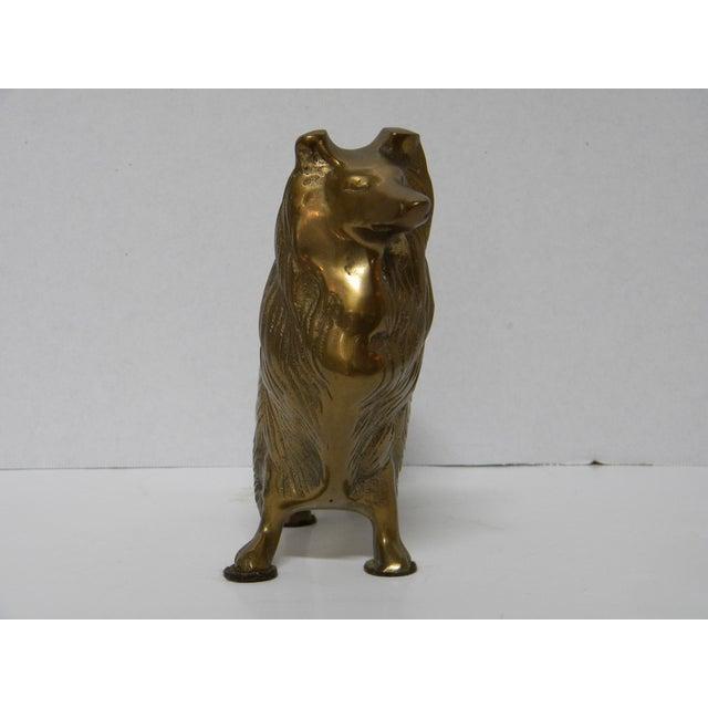 Vintage Brass Sheltie - Image 3 of 4