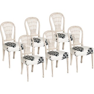 20th Century French Dining Chairs - Set of 6