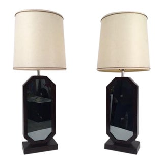 Mid-Century Infinity Lamps - A Pair