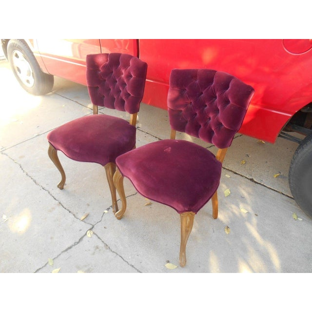 French Fireside Dining Chairs - A Pair - Image 4 of 8