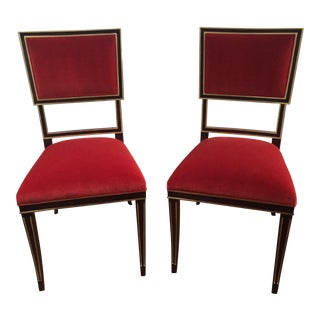 Hickory Chair Ilsa Side Chairs - A Pair