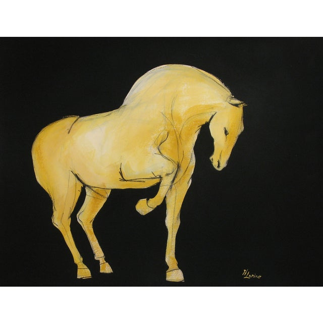 Sienna Tang Horse I Painting by Heidi Lanino - Image 1 of 3