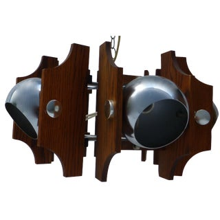 Chrome Kovacs Ball Hanging Light Fixture
