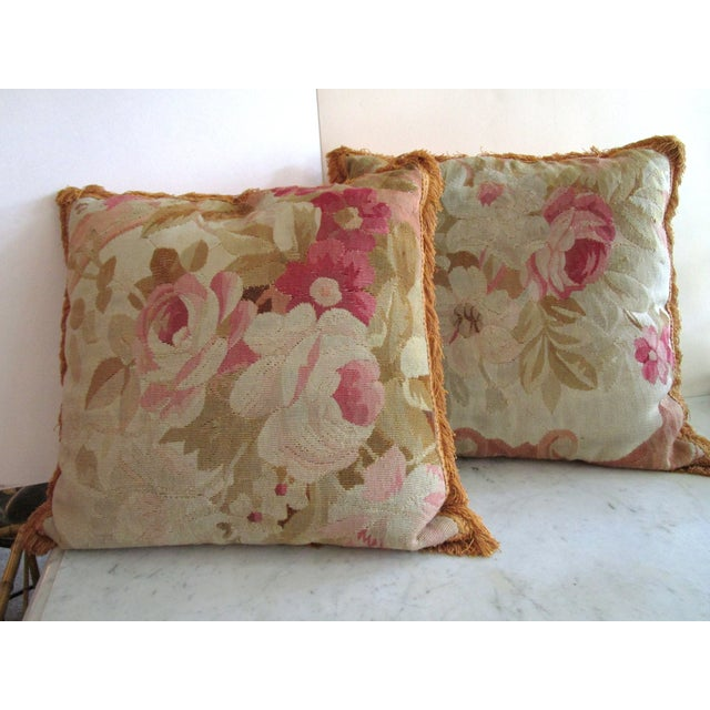 Image of Aubusson Pillows - Pair