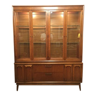 Broyhill Premier Facet Mid-Century China Cabinet