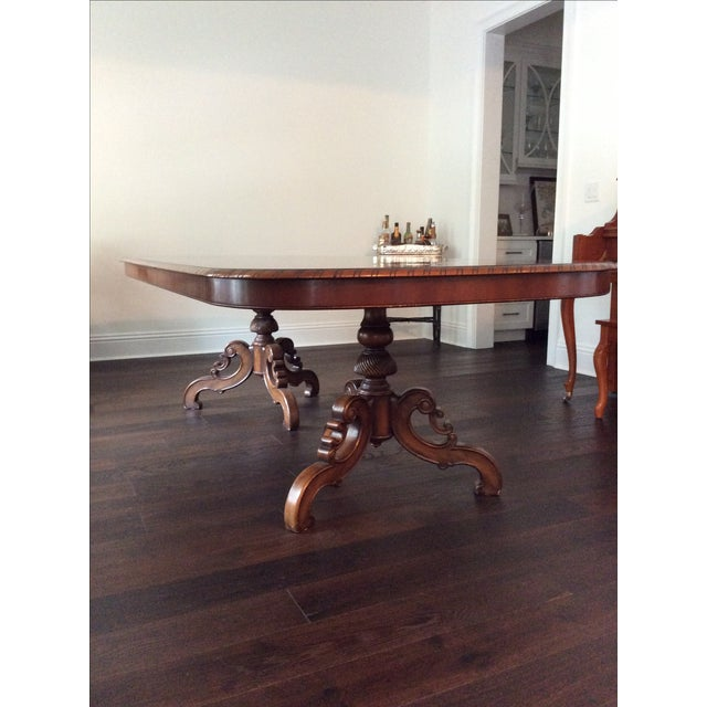 Alfonso Marina Solid Walnut Dining Table - Image 7 of 7
