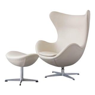 Arne Jacobsen Egg Chair & Ottoman