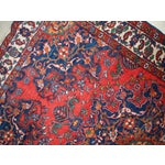 Image of 1970s Hand Made Vintage Persian Mashad Rug - 4′7″ × 6′4″
