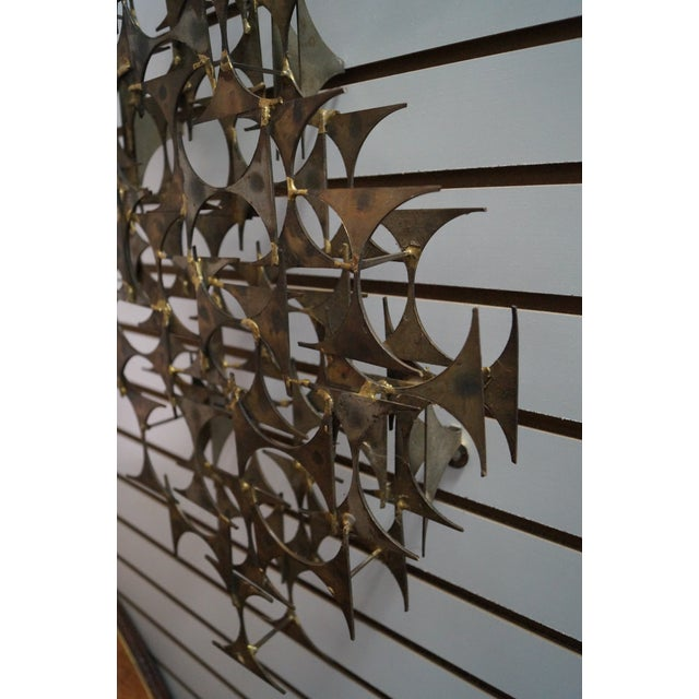 Image of Marc Creates Mid-Century Modern Wall Sculpture