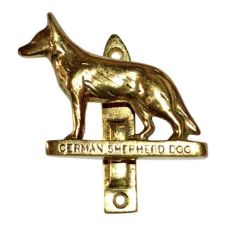 German Shepherd Door Knocker