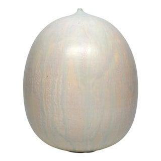 Graceful Organic Ceramic Vessel by Artist Jeffrey Loura, 2016