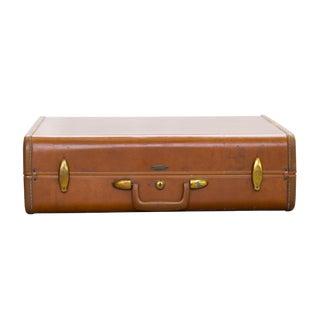 Vintage 1950s Brown Samsonite Style 4635 Suitcase