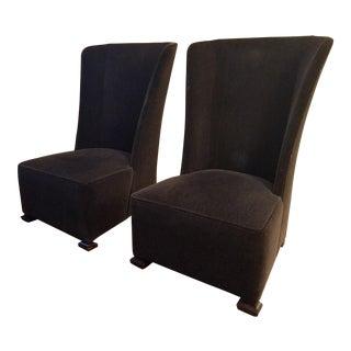 Thomas O'Brien Wing Chair - A Pair