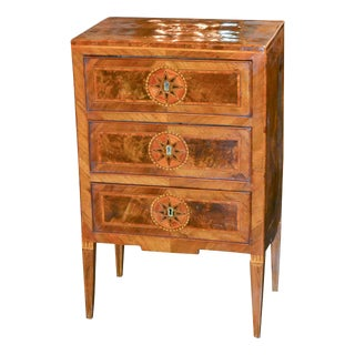 19th Century Northern Italian Inlaid Chest