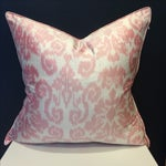 Image of Williams Sonoma Home Silk Ikat Pillow