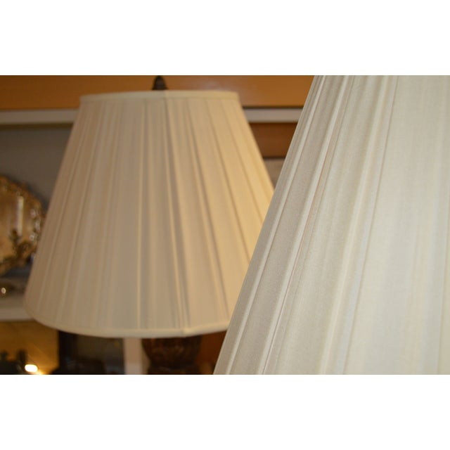 Italian Florentine Standing Lamps - Pair - Image 7 of 7
