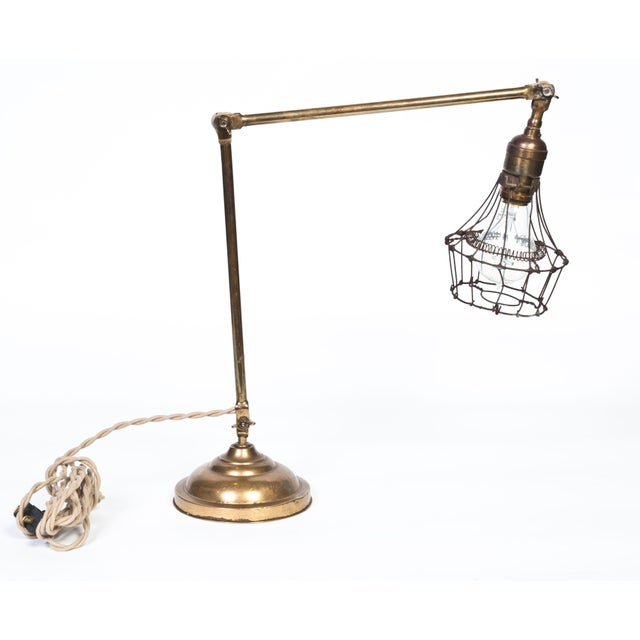 Brass Desk Lamp - Image 2 of 3