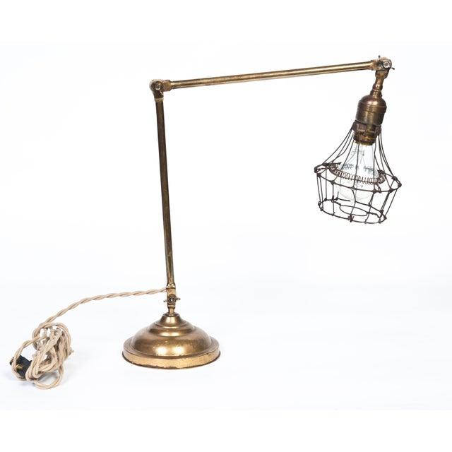 Image of Brass Desk Lamp