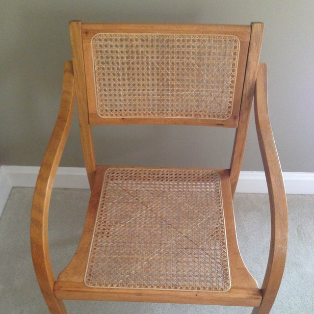 Thonet Style Bentwood & Cane Arm Chair - Image 4 of 5