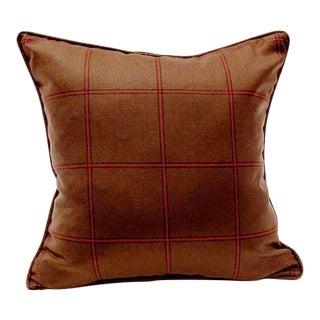 """Scudder Tartan Pillow - 18"""" x 18"""""""