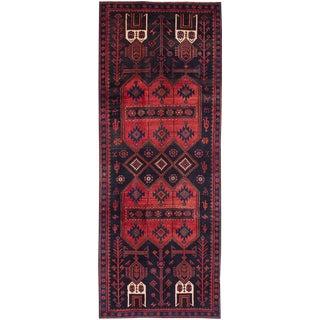 "Vintage Persian Koliai Rug- 3'10"" x 10'4"""