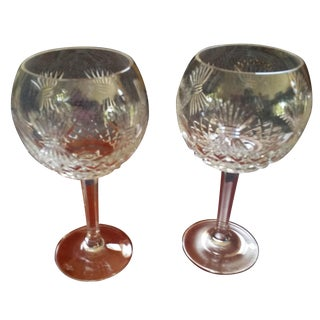 Waterford Millennium Series Toasting Goblet - Pair