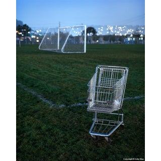Shopping Cart - Night Photograph by John Vias