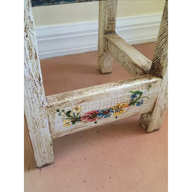 Vintage Hand Painted Child's Chair - Image 5 of 5