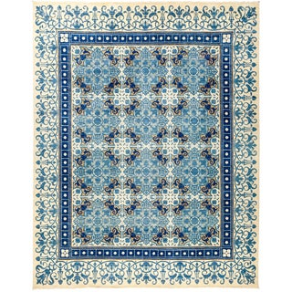 """Suzani Hand Knotted Area Rug - 8'1"""" X 10'2"""""""