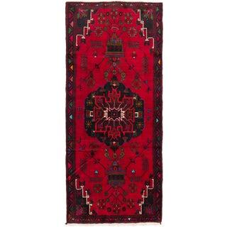 Vintage Zanjan Persian Rug - 4′2″ × 10′8″
