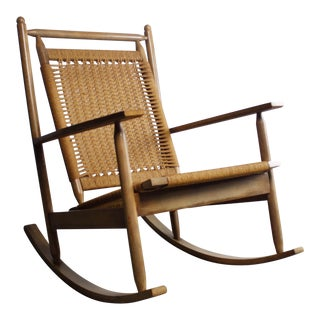Hans Olsen Attributed Mid-Century Danish Rocker