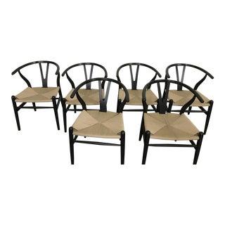 Modway Wishbone Style Chairs- Set of 6