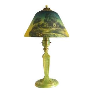 Antique Art Nouveau Boudoir Lamp