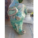 Image of Vintage Elephant Wall Vase