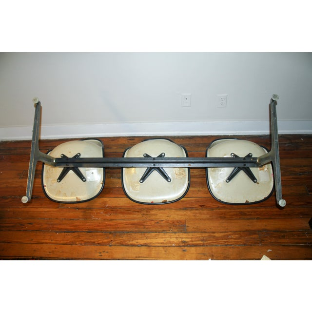 Vintage Eames Tandem Bench Chair - Image 10 of 11