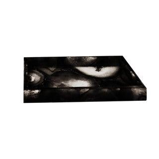 Black & White Agate Vanity Tray