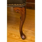 Image of Antique French-Style Walnut Bench
