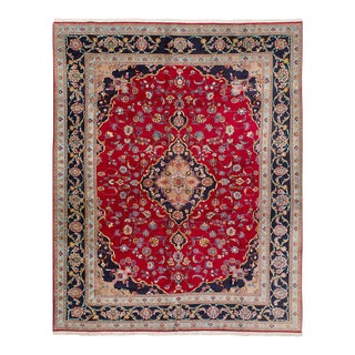 "Kashmar Semi-Antique Persian Rug, 9'6"" x 12'8"""