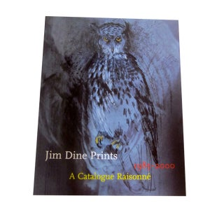Jim Dine Print Catalog Book Art Print Modernist