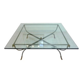 Maison Jansen Style Hollywood Regency Coffee Table