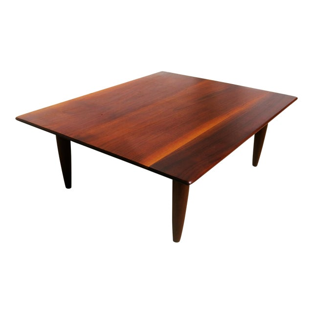 mid century low coffee table chairish With mid century low coffee table