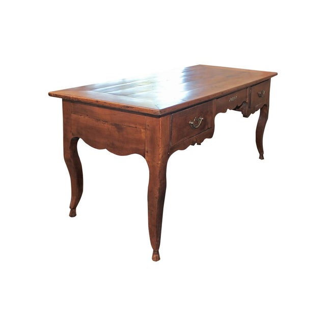Image of Antique Queen Anne Style Desk