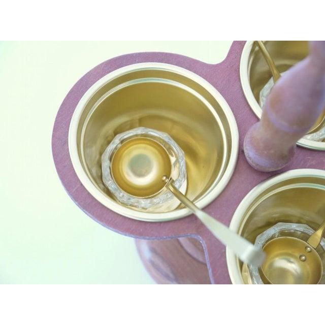 Mid-Century Sauce Tray Set - Image 5 of 6
